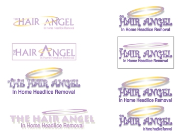 hair angle business card designs