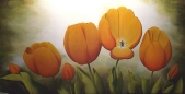 Orange Tulips - SOLD